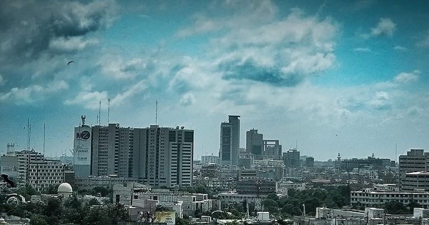 Karachi's Skyline