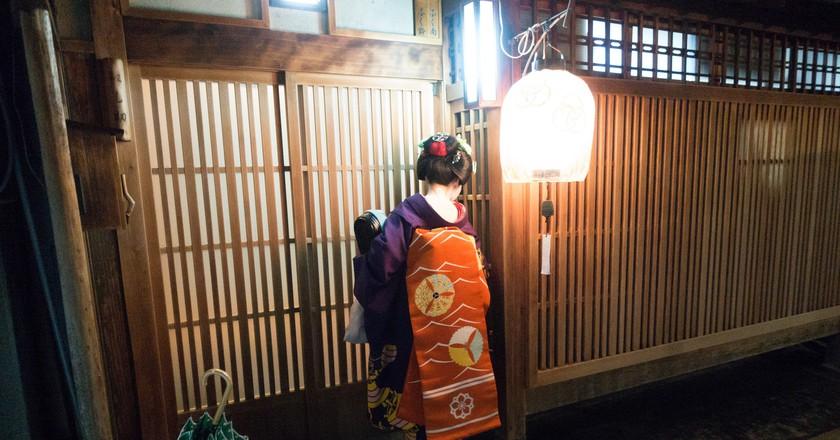 Geisha   © Kent Wang / Flickr