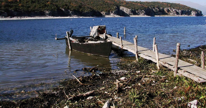 Psarades, fisherman village in Prespes | © widjet/Flickr