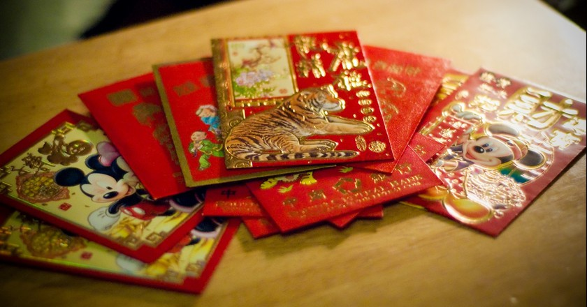 Lucky red envelopes   © Clifton / Flickr