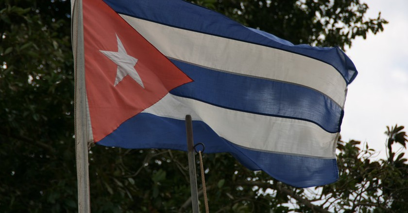The flag of Cuba | © Marco Zanferrari/Flickr