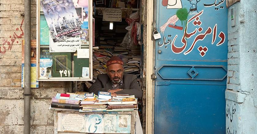 Book shop in Tehran | © Kamyar Adl / Flickr