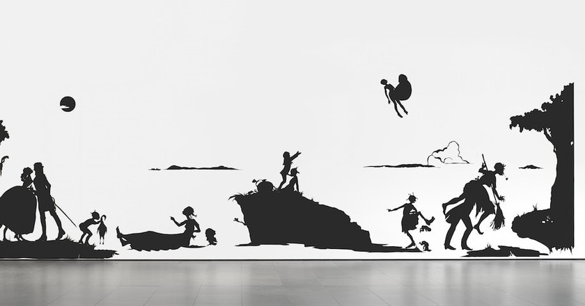 Kara Walker. 'Gone: An Historical Romance of a Civil War as It Occurred b'tween the Dusky Thighs of One Young Negress and Her Heart.' 1994 | © 2018 Kara Walker