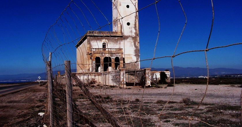 An abandoned church in Almeria's Cabo de Gata Natural Park | © Miguel Ángel Niebla/flickr