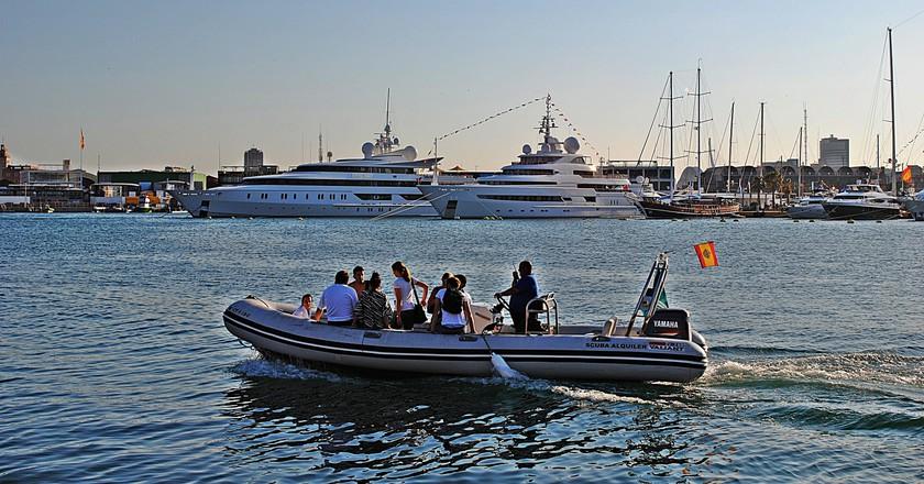 Boats at Valencia's port | Marcela Escandell / Flickr