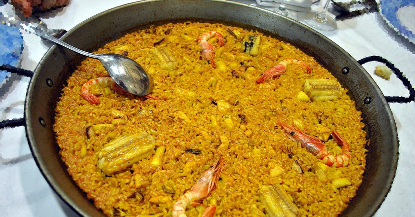 Paella | © Marcela Escandell / Flickr