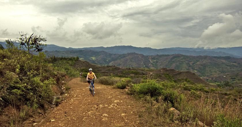 Cycling in Colombia | © Tomás Castrillón / Flickr