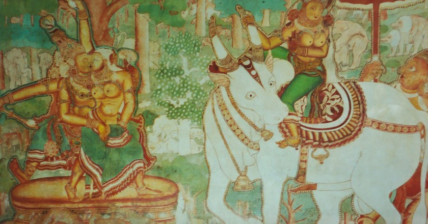 Mural art in Mattancherry Palace Museum | © Mark Hills / WikiCommons