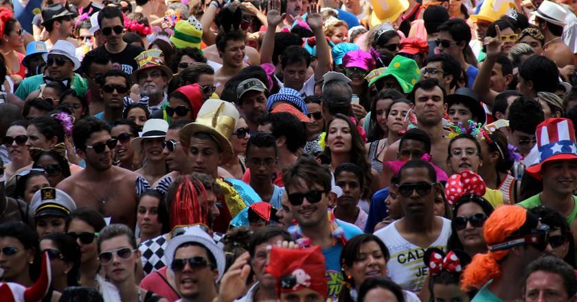 Carnival crowds |©Joana Coimbra – Riotur.Rio/Flickr