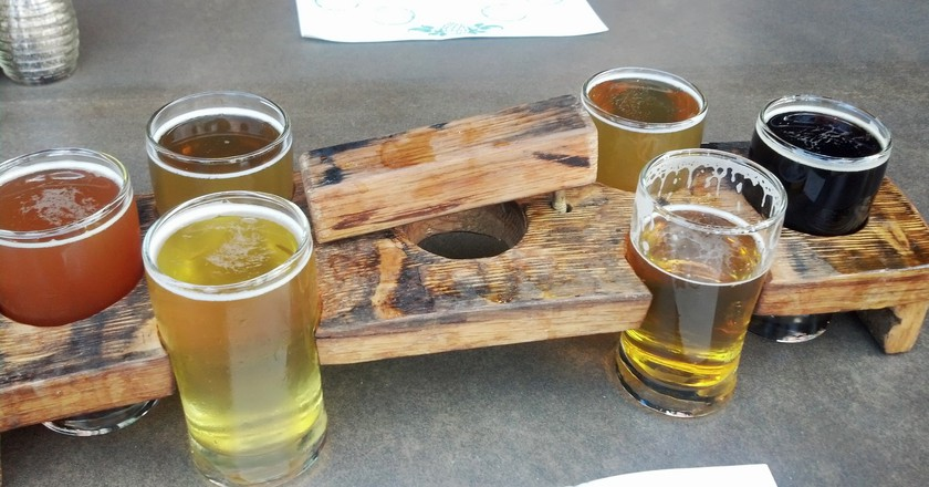 The Wicked Weed Flights | © WNJohnson / Flickr