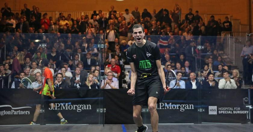 Ali Farag   © Professional Squash Association