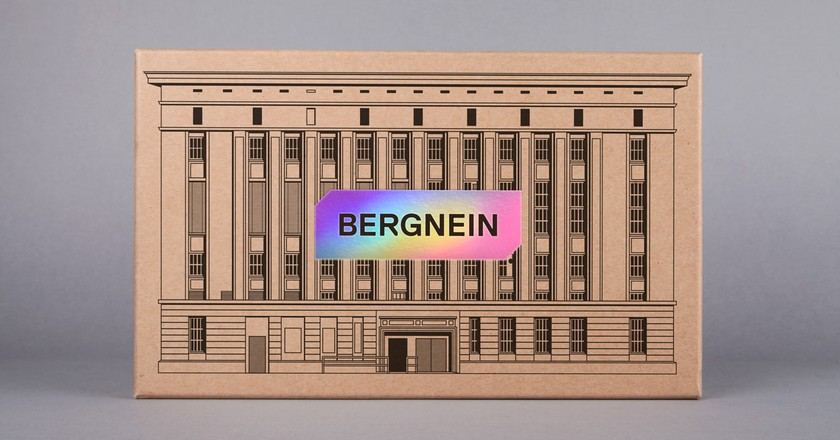 Bergnein, the Berghain themed board game | © Ninja Print/ Courtesy of Ninja Print