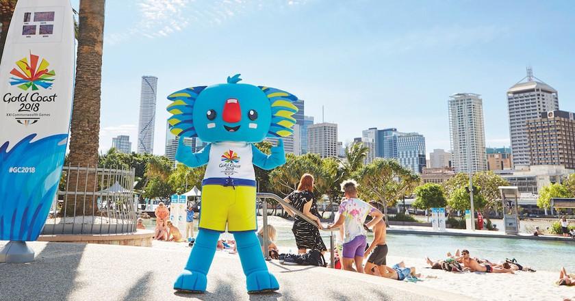 Borobi the mascot of the 2018 Commonwealth Games | © TEQ