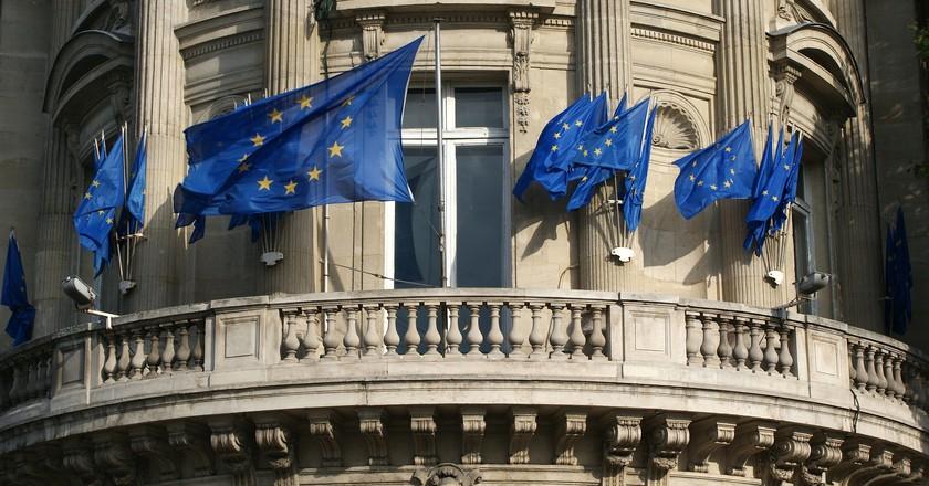 European Union Flags   © 12019 / Pixabay