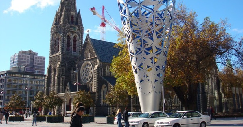 Christchurch Cathedral | © Shoestring/Wikicommons