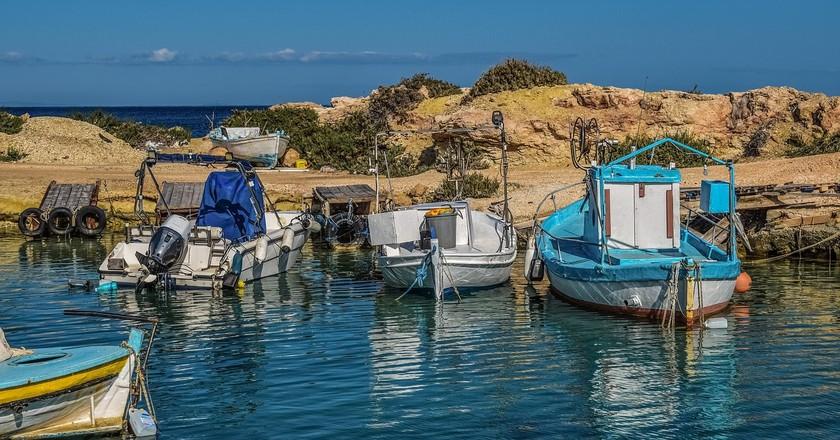 A quaint fishing village awaits