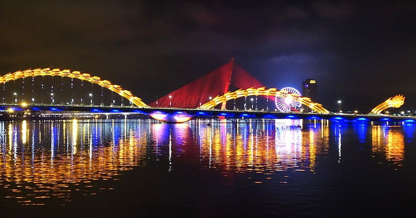 The most famous bridge in Danang | © Daderot/WikiCommons