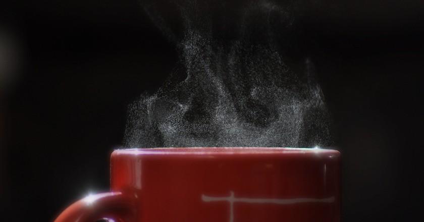 Coffee cup steam | © Dave Michuda/Unsplash