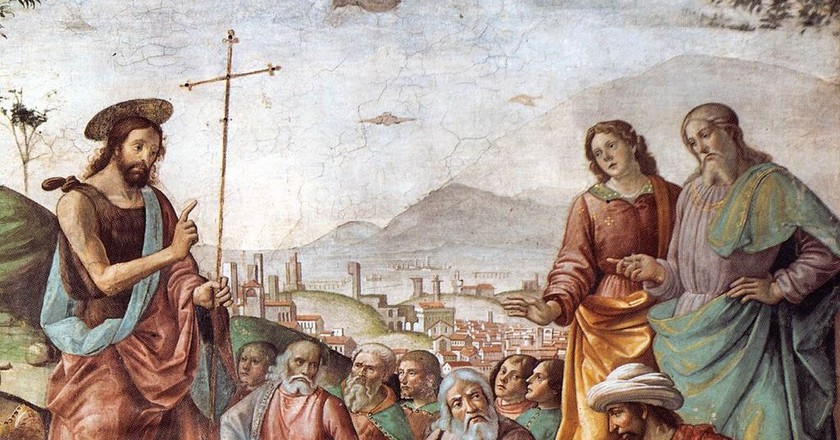 Painting of John the Baptist preaching   © Web Gallery of Art / WikiCommons