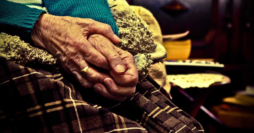Elderly grandparent | © Chris Marchant/Flickr