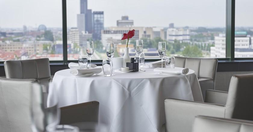 The view from Restaurant élevé | © Restaurant élevé / WTC Hotel Leeuwarden