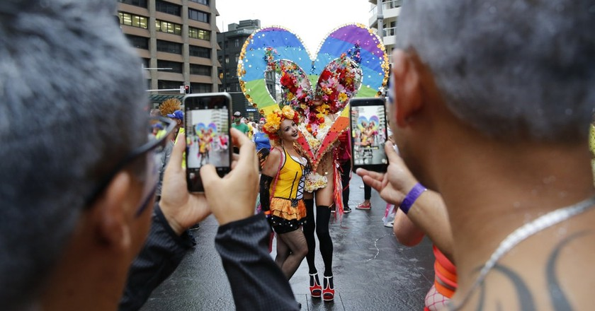 Float at the Mardi Gras parade | © Courtesy of Ann-Marie Calilhanna/Sydney Gay and Lesbian Mardi Gras