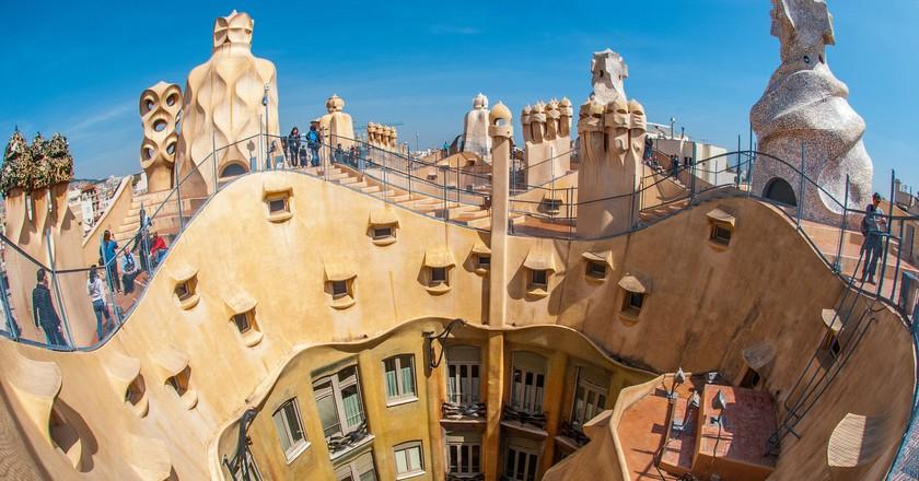 Gaudí's Casa Milà in Barcelona | © Pexels / Pixabay