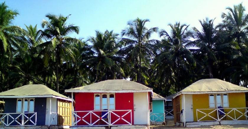Colourful houses in Goa | © Aniket Thakur / Flickr