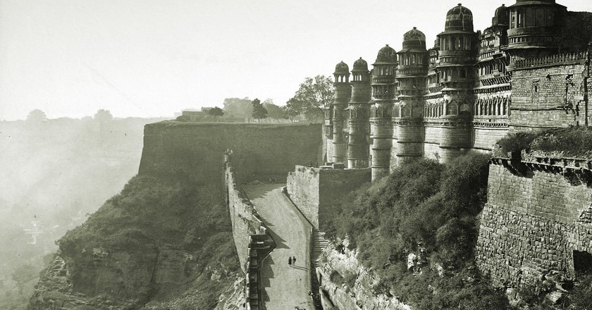 Main entrance to the Gwalior Fort and man Singh Palace | © Dayal, Deen/Wiki Commons