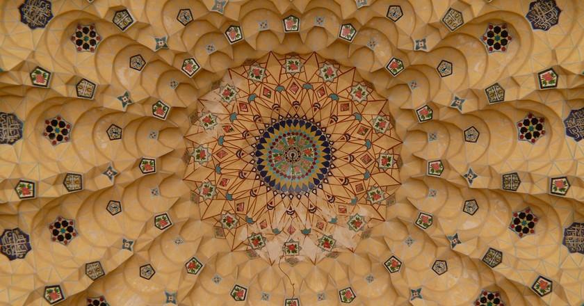 Iranian tiles in Shiraz | © dynamosquito/Flickr