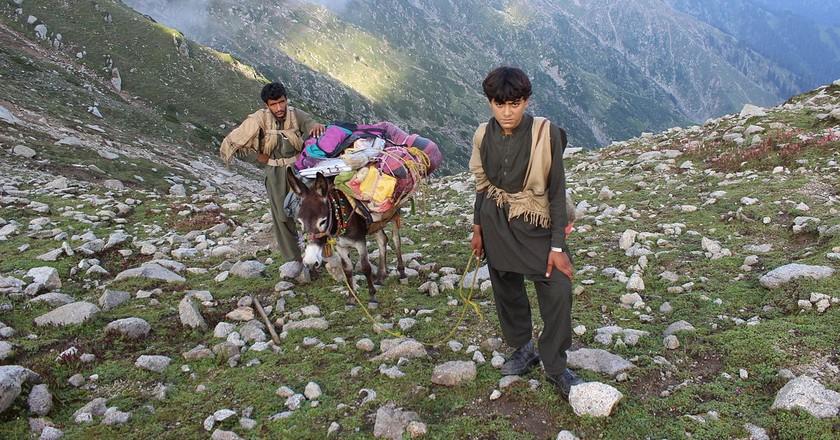 Pakistanis in Swat Valley