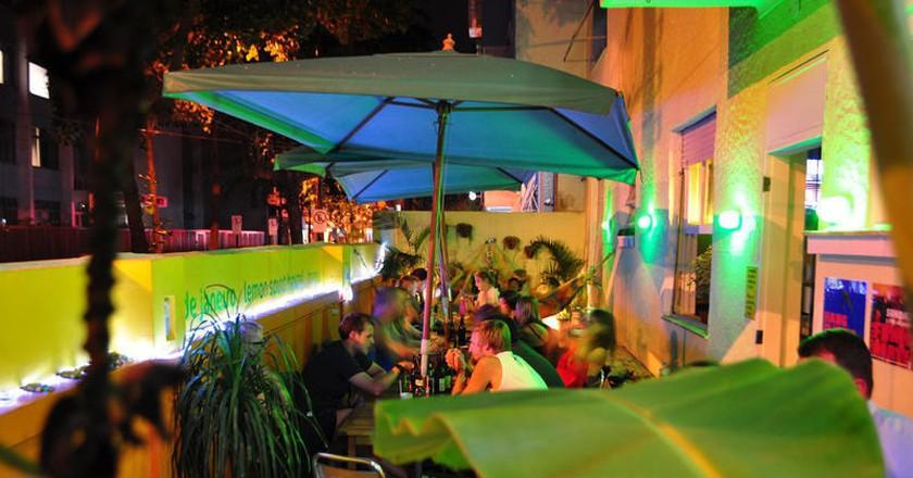 Hostel patio | Courtesy of Lemon Spirit Hostel