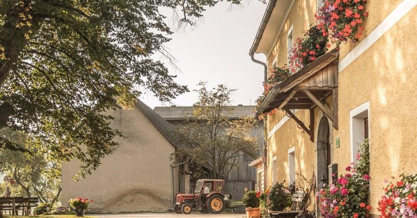 A local farm in Graz | Courtesy of the Graz Tourism Board