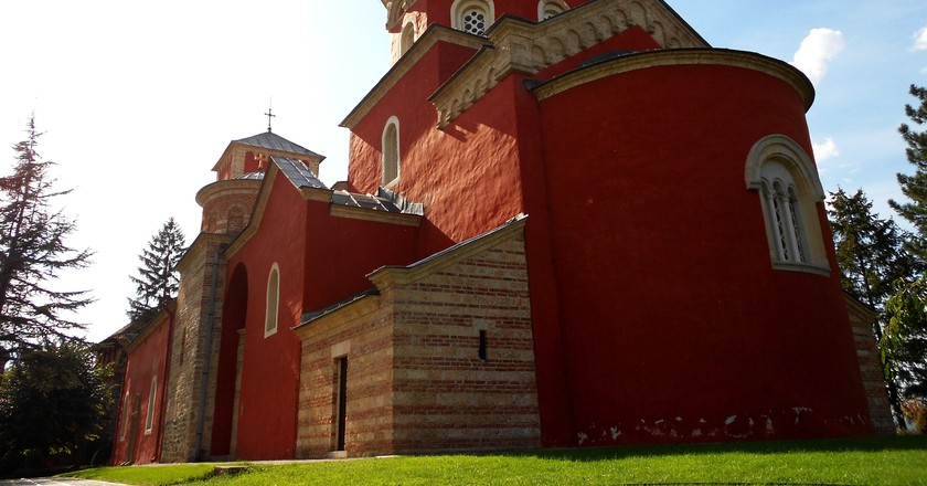 Žiča's magnificent monastery