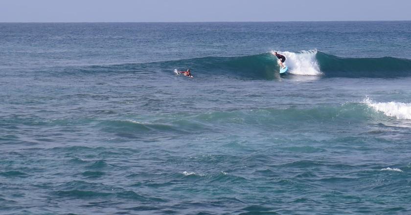 Surfing in Midigama | Courtesy of Surf South Sri Lanka