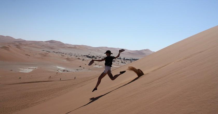Sand dunes of Namibia   © gabrielestoeckmann / Pixabay