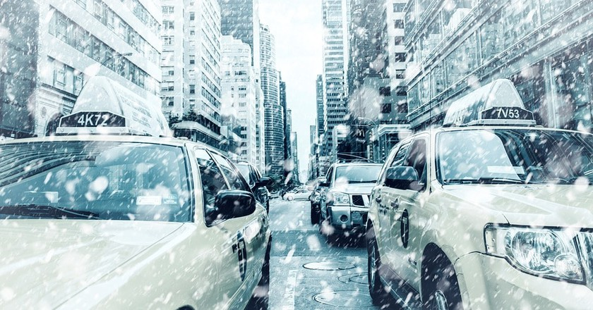 Snowy New York   © Nick_H / Pixabay