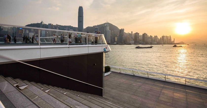 Ocean Terminal Deck – Hong Kong   Courtesy of Harbour City