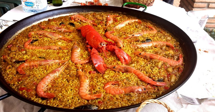 Seafood paella | © maritagiraldo840 / Pixabay