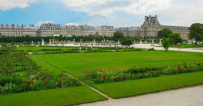 Gardens in Paris | ©kirkandmimi/Pixabay