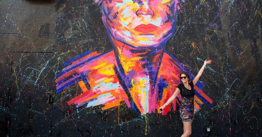 French street artist Manyoly, Paris 2017   © Courtesy of Manyoly