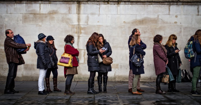 Why Are the British So Good at Waiting in Line?