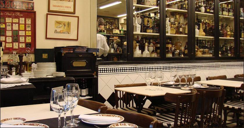 Restaurante Víctor Monte, Bilbao | ©Jean-Pierre Dalbéra / Flickr