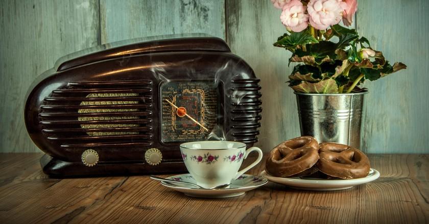 Vintage radio   © Pixabay
