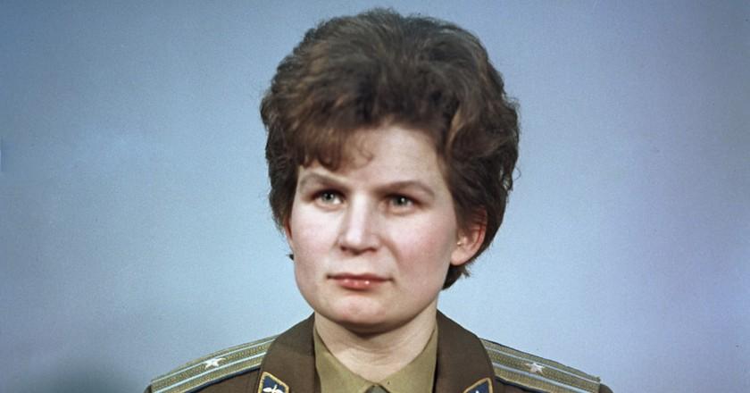 Valentina Tereshkova   © RIA Novosti archive, image #612748 / Alexander Mokletsov / CC-BY-SA 3.0 / WikiCommons