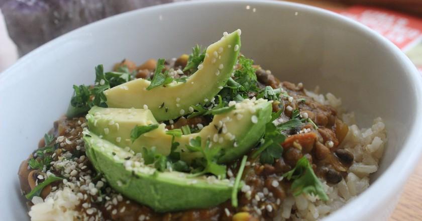 Rice Bowl | Courtesy of Ezra's Enlightened Cafe