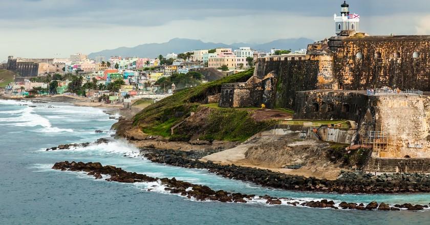 El Morro Fortress, San Juan, Puerto Rico | © Gary Ives/Shutterstock