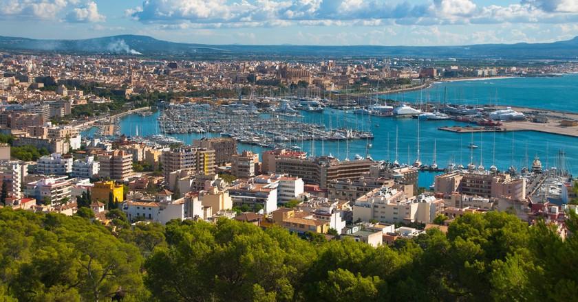 Palma de Majorca   © Olga Yatsenko/Shutterstock