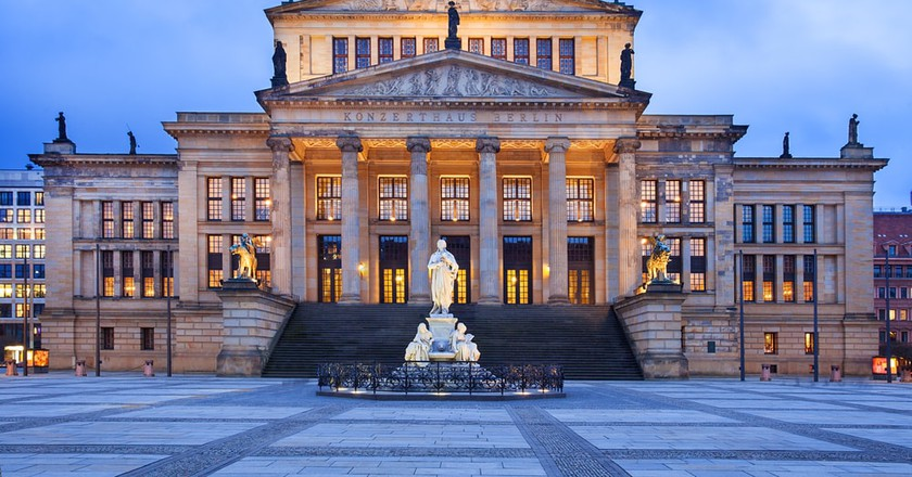 Neo-classical Concert Hall in Berlin | © Marten_House/Shutterstock