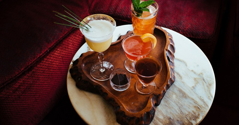 Winter Cocktails Assortment | Courtesy of Loa Bar